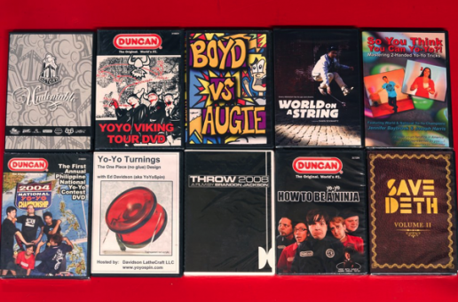 Mystery DVD Pack! 3 yo-yo DVDs for only $10!