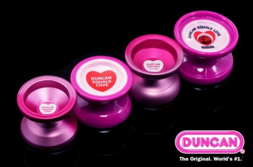 Duncan Equals Love Collection. Orbit, Freehand NXG, Counter Punch, Big Fun!