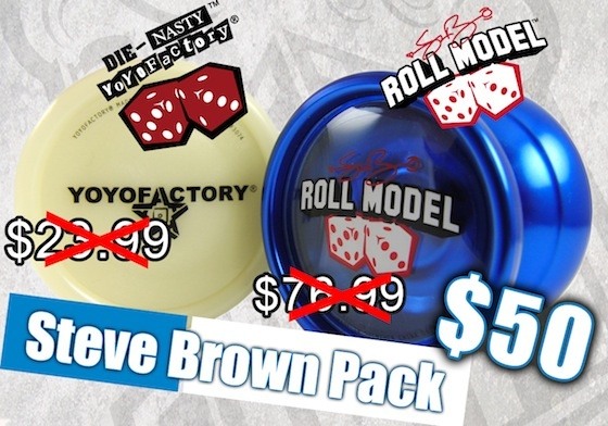 Steve Brown YoYoFactory Pro Pack YoYoExpert